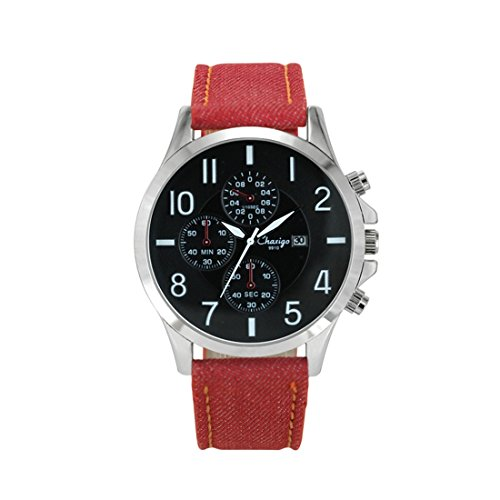 08de263fac7 Chaxigo Unisex Canvas Stainless Steel Military Relogio - Import It All