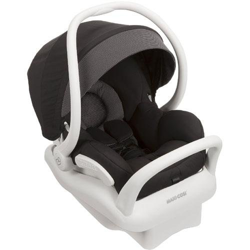 2014-Maxi-Cosi-Mico-AP-Infant-Car-Seat-White-Collection-Black-0-12-Months-Prior-Model