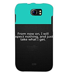 PrintDhaba Quote D-2649 Back Case Cover for MICROMAX A110 CANVAS 2 (Multi-Coloured)