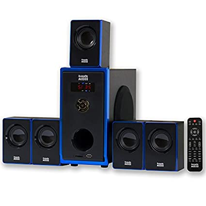 Acoustic Audio AA5102 5.1 Multimedia Speaker System