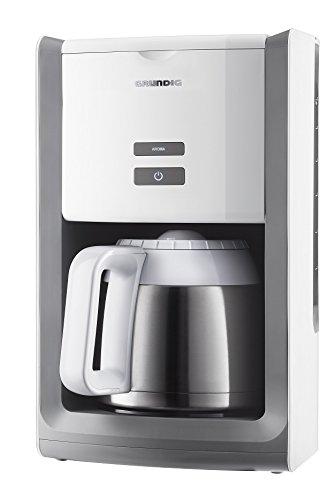 KM 8280 W Kaffeemaschine Thermokanne 1,5 L Kanne, abnehmbarer Wassertank, Abschaltautomatik, weiß / edelstahl