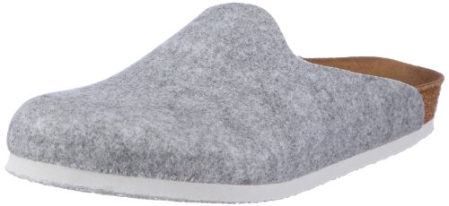 Birkenstock Unisex Amsterdam 559111 Light Grey Slides Sandal 35 EU (normal)