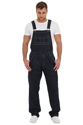 Salopette Jeans Uomo - Indaco salopette a buon mercato