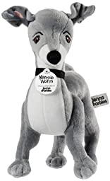 Jenna Marbles Kermie Worm Stuffed Animal Collectible Squeaker Toy by Jenna Marbles