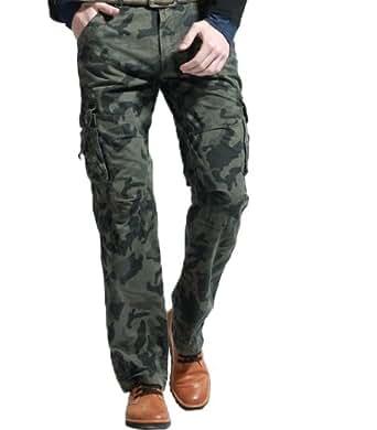 Pantalon treillis militaire camouflage - Taille 38