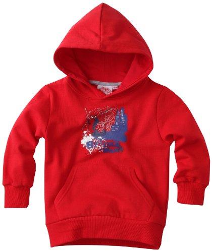 spiderman-felpa-con-cappuccio-bambino-rosso-rouge-6-anni