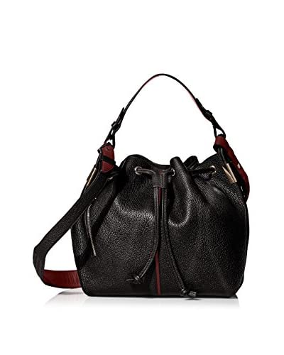 Time's Arrow Women's Lida Bucket Bag, Jet/Syrah
