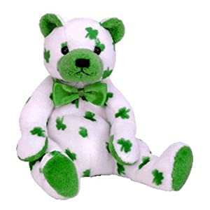 Ty Beanie Babies - Clover St Patricks Day Bear