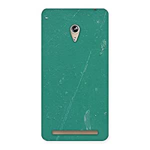 Enticing Green Paint Crack Print Back Case Cover for Zenfone 6
