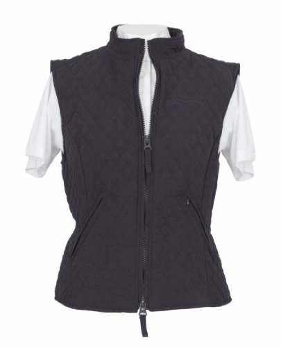 Shires Ladies Montreal Waistcoat: Black: Large
