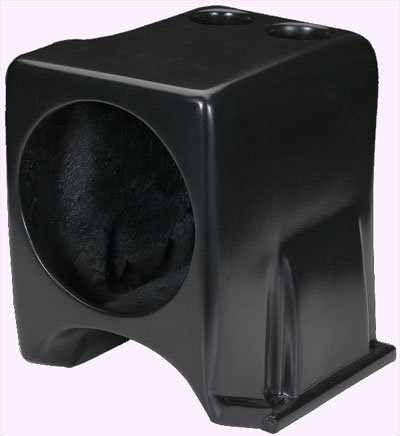 "Ssv Works 2008 - 2010 Yamaha Rhino Center Console Subwoofer Enclosure Designed For 10"" Speaker"