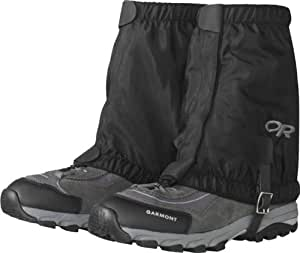 Outdoor Research Rocky Mountain Low Gaiters (Black, Small/Medium)