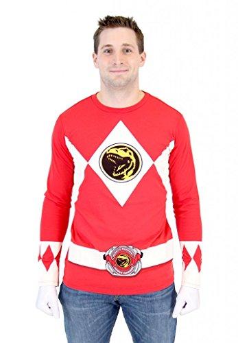 Power (Red Samurai Adult Costumes)