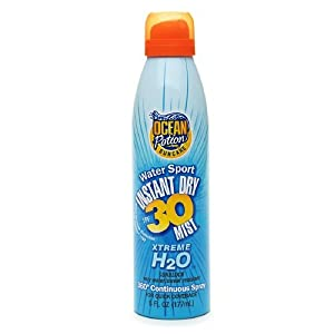 "Sun and Skin Care Researc 60150 ""Ocean Potion Suncare"" Sport Continuous Sunscreen Spray Spf30 (Pack of 12)"