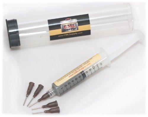 Kester EP256 Lead Solder Paste 63/37 Syringe Dispenser