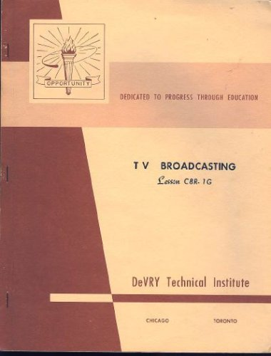 Devry Technical Institute TV Electronics Course C8