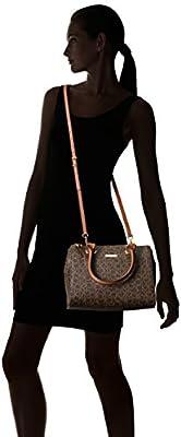 Calvin Klein Signature Top Zip Satchel Bag