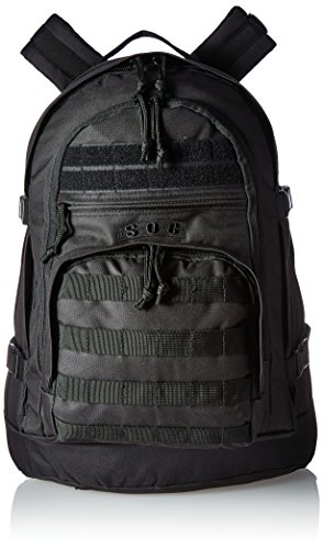 Sandpiper of California Three Day Pass Backpack (Black, 20x14.5x8.5-Inch) (Soc Gear compare prices)