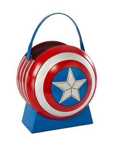 Avengers Age of Ultron Captain America Collapsible Shield Pail