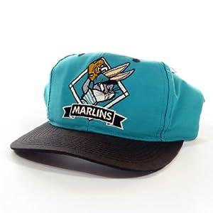 Florida Marlins  Looney Tunes  Bugs Bunny  MLB  Vintage Deadstock  Snapback Hat  Cap by Vintage