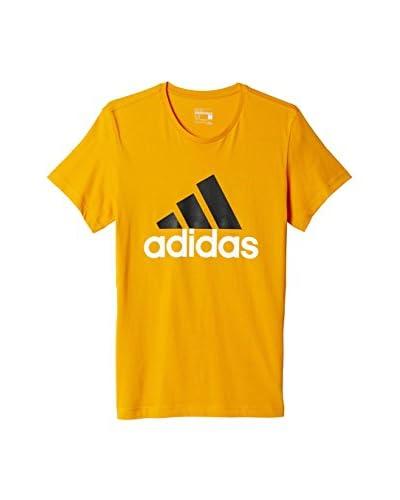 adidas Camiseta Manga Corta Essentials Naranja