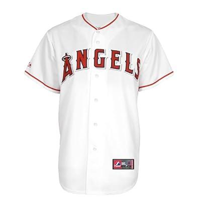 MLB Los Angeles Angels Albert Pujols Home Replica Baseball Jersey, White, Large