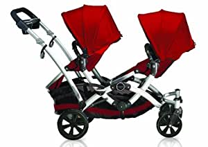 Contours Options Tandem Stroller, Ruby (Older Version) (Discontinued by Manufacturer)
