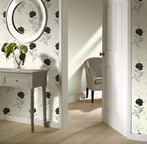 Gran Deco Chelsea Wallpaper - Black from New A-Brend
