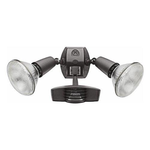 RAB Lighting STL110R Stealth 110 Sensor with Twin Die Cast R90 PAR-38 Floods, Aluminum, 110 Degrees View Detection, 1000W Power, 120V, Bronze Color (Par 38 Motion Sensor compare prices)