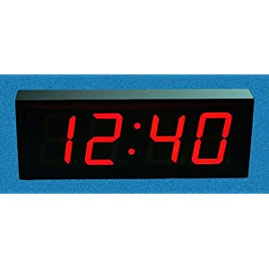 large digital led wall clock