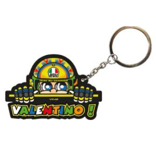 2014 Official Valentino Rossi Vr46 The Doctor Cartoon Moto Gp Key Ring