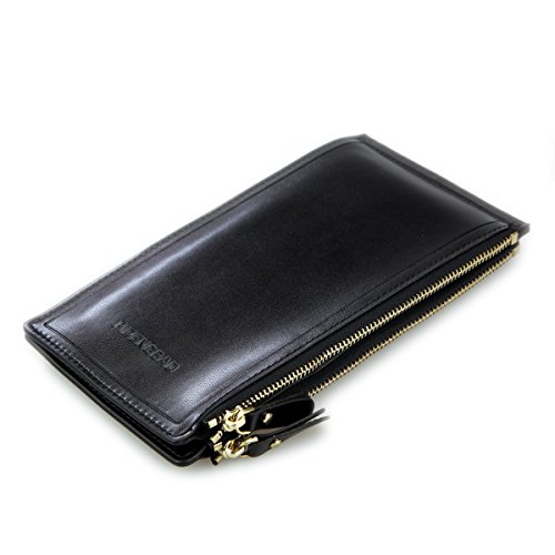 03. DKER Multi-function Credit ID Cards Case Long Wallet with Zipper