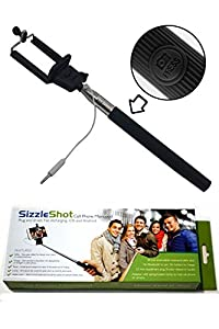 sizzleshottm selfie stick monopod plug and shoot quick simple and reliable just. Black Bedroom Furniture Sets. Home Design Ideas
