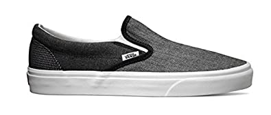 Buy Vans Classic Slip-On Suiting Mix Black True White by Vans