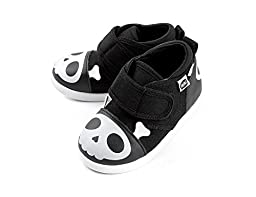 Squeaky Shoes for Toddlers w/ Adjustable Squeaker, By ikiki (6, Captain Zuga)