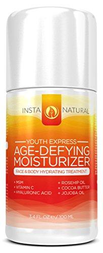 Crème anti-âge hydratant pour le visage - 3.4