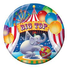 Creative Converting Big Top Birthday Lunch Plates - 8 ct
