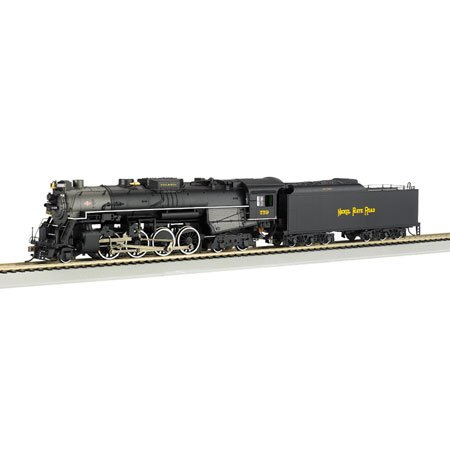 Bachmann Trains 2-8-4 Berkshire Nickel Plate 759 - Rail Fan Version front-335026