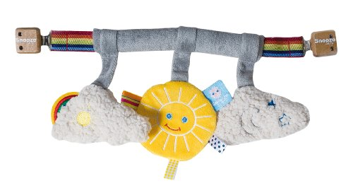 Snoozebaby Stroller Toy, Sunshine front-498717