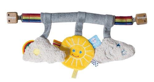 Snoozebaby Stroller Toy, Sunshine