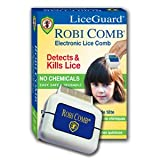 Liceguard robi comb electronic head lice detector and remover - 1 ea