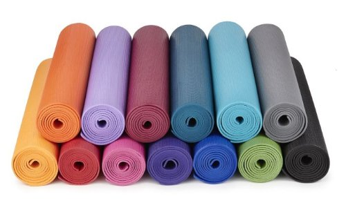 Yogamatters sticky yoga mat, Royal blue