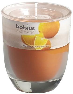 Ivyline Bolsius 80 X 70 Mm Scented Glass Jar Juicy Orange by Ivyline