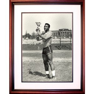Jim Brown Syracuse Lacrosse Framed Unsigned 16x20 Photo by Biggsports