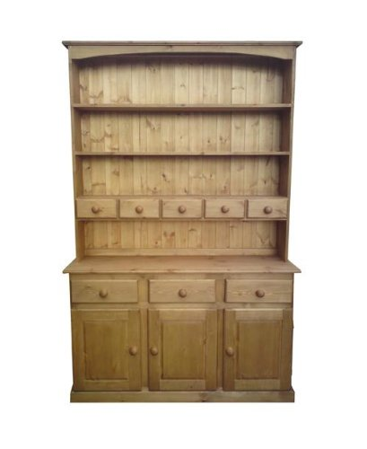 Wye Pine 4ft 6' Farmhouse Spice Drawer - Finish: Unfinished - Stain: Waterbased