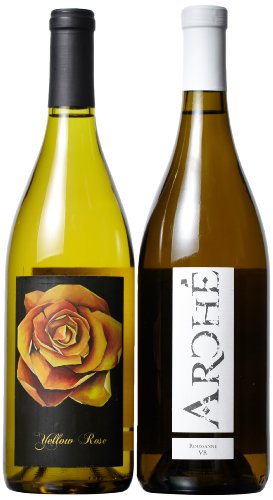 Arché Wines Sweet & Dry Roussanne Mixed Pack, 2 X 750 Ml