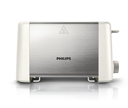 Philips HD4825/01 800-Watt 2-Slot Toaster (White)