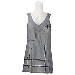 Beautiful Clothes Grey Casual Wear Cotton Top For Women (BCA 2002)