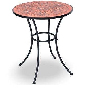 Jago MGTS02 Tavolo mosaico da giardino in acciaio   recensioni