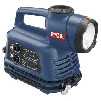Factory-Reconditioned Ryobi ZRYN600A 12V Inflator/Deflator and Worklight